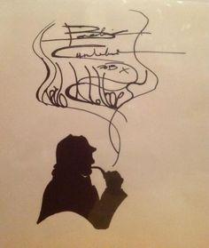 draw, artists, art auction, cumberbatchsherlock holm, fan art