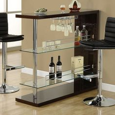 Monarch Glossy Shelved Bar