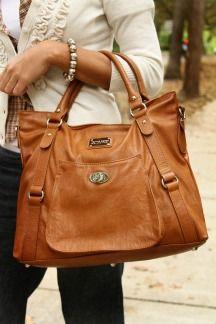 Huntington Handbag by Jenna Kator......think this might be my next handbag.