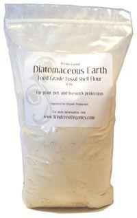 Diatomaceous Earth at Windcrest Farm