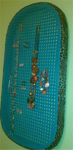 Jewelry holder...turquoise!