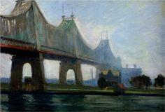 Queensborough-Bridge - Edward Hopper