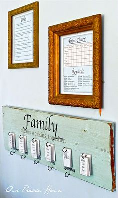 kids chore charts, home crafts, famili, craft tutorials, kid chores, reward system, homes, the rules, family rules