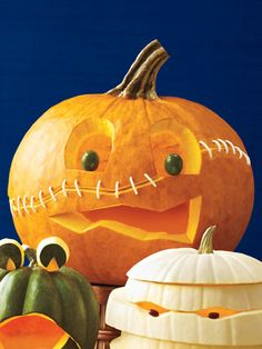 Cool Pumpkin Carvings - How to Carve a Pumpkin - Woman's Day pumpkin carvings, carv idea, holiday idea, pumpkincarv