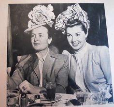 Esther Williams with Irene Lentz