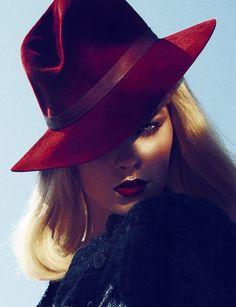 Spy in Nice - Txema Yeste #judithm #millinery #hats #fedora