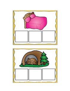 free cvc word mats/elkonin boxes sampler - great for literacy centers!