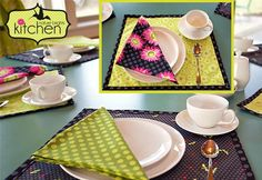 Kitchen: Everyday Reversible Placemats