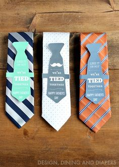 Father's Day Gift Idea and Free Printable via @Taryn H {Design, Dining + Diapers}