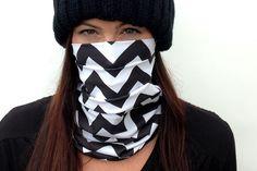 Celtek Womens Hadley Snowboarding Face Mask in chevron