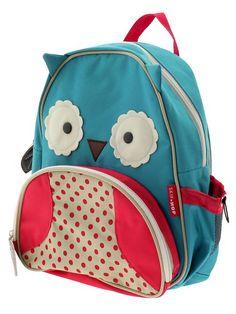Cute owl backpack.