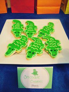 alligator cookies, allig parti, allig cooki, preppy cookies, cooki busi, deco cooki, fanci cooki