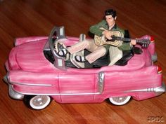 Elvis's Pink Cadillac Cookie Jar