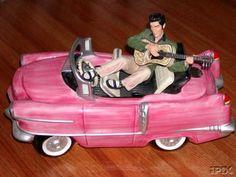Elvis's Pink Cadillac Cookie Jar