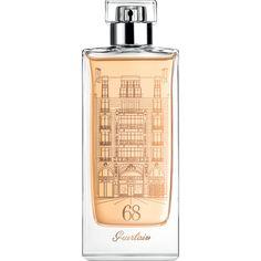 Le Parfum du 68 by Guerlain paris, fragranc, sensat style, design bottl, champs