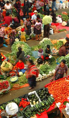 #Guatemala's highland markets ... want to go?