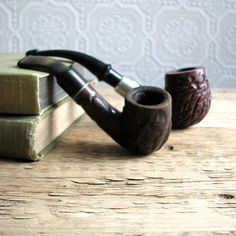vintage pipes- Reminds me of my Daddy.