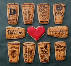Wine Cork Cookies