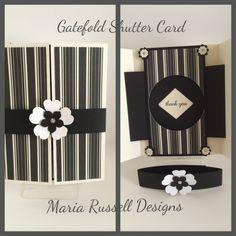 Gatefold Shutter Card