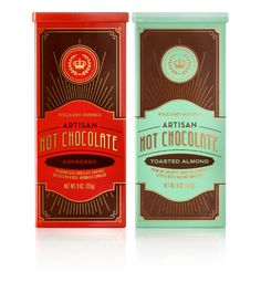 williams-sonoma hot chocolate packaging. lab partners.