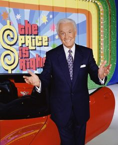 Bob Barker, host of The Price Is Right