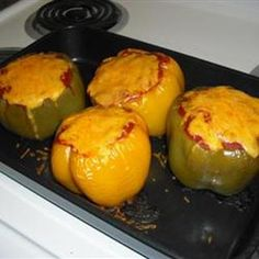 Taco Style Stuffed Peppers