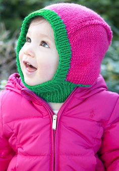 Patons Astra - Baby Hood (knit)