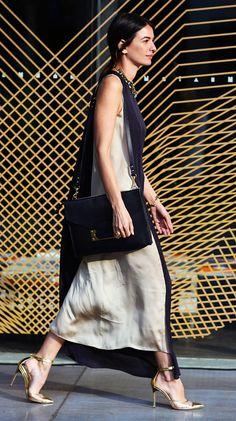 Leila Yavari at Australia Fashion Week. Stunning.