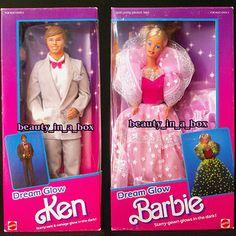 dream glow barbie and ken