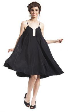 שמלת בייסיק שחורה | רוני קנטור | מיי סטורס
