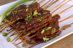 Mash-it Steak Skewers with Cherry BBQ Sauce. One of our favorites ...