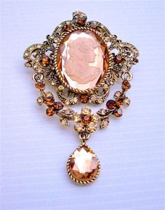 victorian broaches -