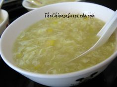 This is similar to the soup at the Wok in Alexandria, LA.  Yes, I asked them how they make it.  I love it that much. :)    The Chinese Soup Lady & Chinese Soup Recipes » Blog Archive » Easy Cream of Corn and Egg Drop Soup