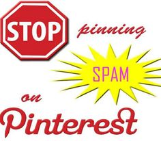 TipsForYou: New Five Anti Spam Steps of Pinterest:  I have just gone through some of my followers and blocked and removed them for spam.. the magic numbers seem to be: very few followers or none: and the number of people they follow are 45-75, and these people are legit and have  over 1 million followers. I at one time had 6 million and with the continuing help from pinterest are worKing to get rid of them..DON'T BE TOO FLATTERED IF YOU HAVE MILLION OF FOLLOWERS----THEY ARE SPAM