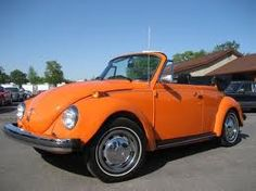 Convertible VW bug