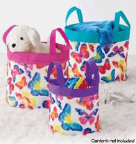Butterfly Nesting Buckets.  Regularly $19.99, buy Avon Kids online at http://eseagren.avonrepresentative.com