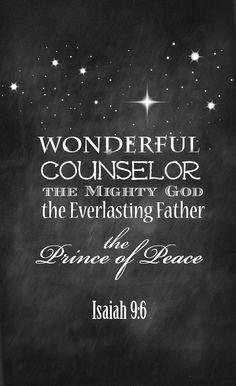 Isaiah 9 Free Printa