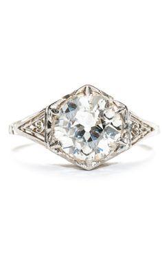 Edwardian Diamond Ring 1.90ct