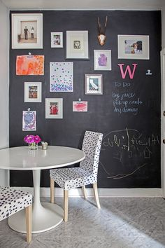 Chalk Board Wall Paint.