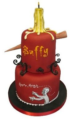 geek, vampires, cake design, birthdays, food