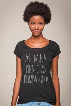 A cara da flaviane essa!!! Camiseta Huck Pomba Gira @ UseHuck