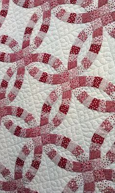 Double Wedding Quilt made by Amanda Denton