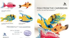 Free tutorial ` Fish from the Caribbean