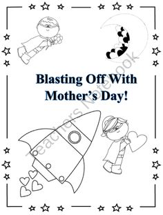 Blasting Off With Mothers Day! from Creative Teaching Resources for the Common Core Classroom on TeachersNotebook.com (6 pages)  - Mothers Day Activity! Blasting Off With Mothers Day
