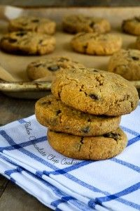 Paleo Chocolate Chip Cookies and more of the best paleo chocolate chips cookies recipes on MyNaturalFamily.com #paleo #cookies #recipe