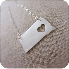 South Dakota necklace. Lovely!