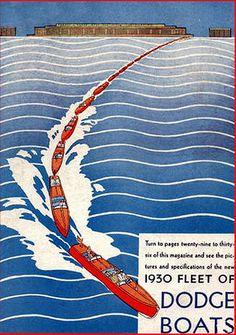 Dodge Boat magazine: vintage boat magazine