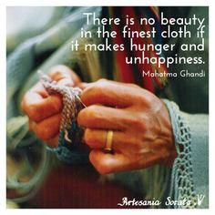 Support #FairTrade, ethical companies! #InspirationalQuote #Gandhi