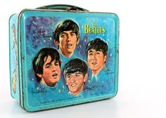 The Beatles - 1965 Blue Metal Lunchbox...The one that got away!  Always hoping to add this one to the collection some day!