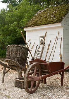 colonial gardening tools